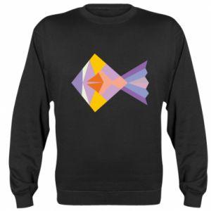 Bluza (raglan) Fish abstraction