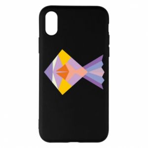 Etui na iPhone X/Xs Fish abstraction