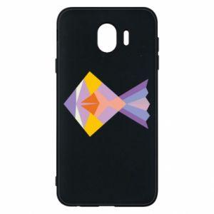 Etui na Samsung J4 Fish abstraction
