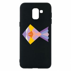 Etui na Samsung J6 Fish abstraction