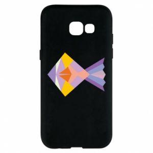Etui na Samsung A5 2017 Fish abstraction