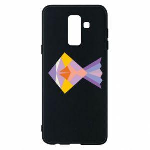 Etui na Samsung A6+ 2018 Fish abstraction