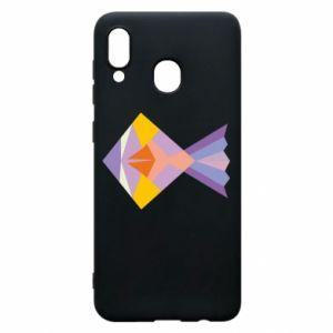 Etui na Samsung A30 Fish abstraction