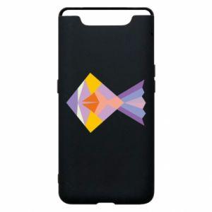 Etui na Samsung A80 Fish abstraction