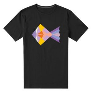 Męska premium koszulka Fish abstraction
