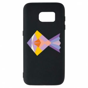 Etui na Samsung S7 Fish abstraction