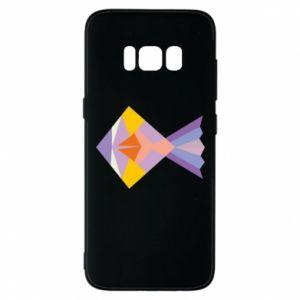 Etui na Samsung S8 Fish abstraction