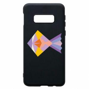 Etui na Samsung S10e Fish abstraction
