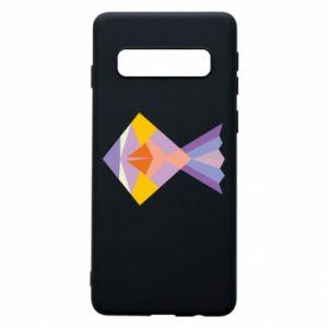 Etui na Samsung S10 Fish abstraction