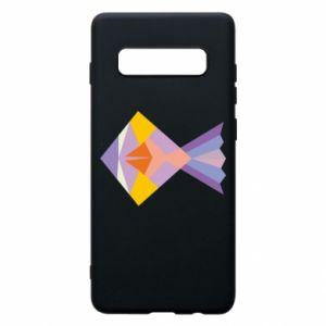 Etui na Samsung S10+ Fish abstraction