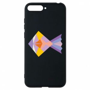 Etui na Huawei Y6 2018 Fish abstraction