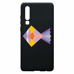 Etui na Huawei P30 Fish abstraction