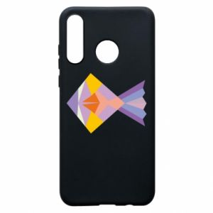 Etui na Huawei P30 Lite Fish abstraction