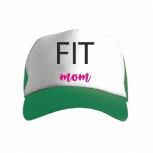 Czapka trucker dziecięca Fit mom