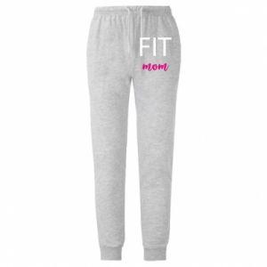 Męskie spodnie lekkie Fit mom