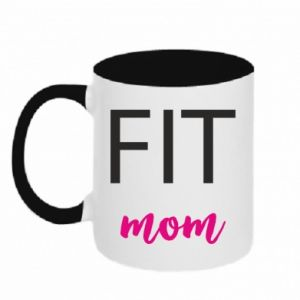 Two-toned mug Fit mom