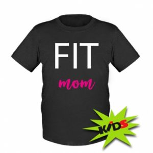 Kids T-shirt Fit mom