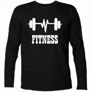 Koszulka z długim rękawem Fitness