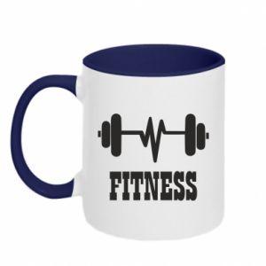 Kubek dwukolorowy Fitness