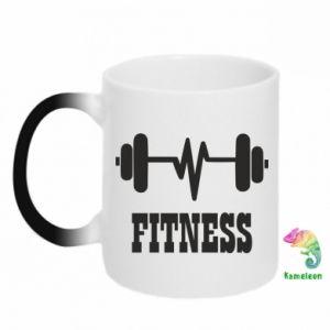 Kubek-kameleon Fitness