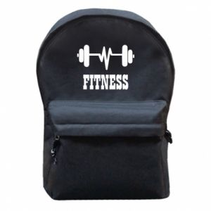 Backpack with front pocket Fitness