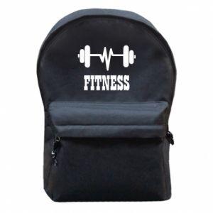 Plecak z przednią kieszenią Fitness
