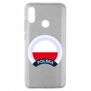 Huawei Honor 10 Lite Case Flag Of Poland round