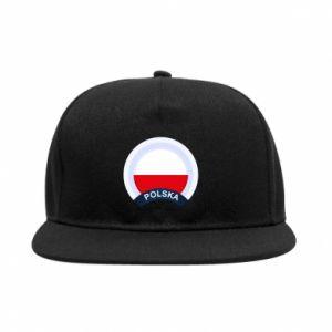 Snapback Flaga Polska okrągła
