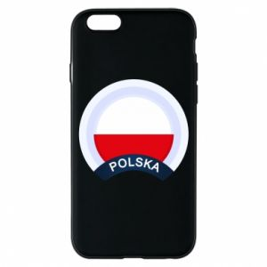iPhone 6/6S Case Flag Of Poland round