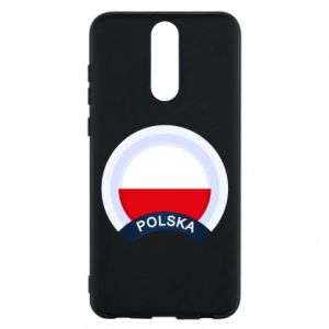 Huawei Mate 10 Lite Case Flag Of Poland round