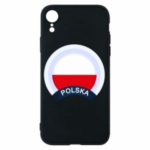 iPhone XR Case Flag Of Poland round