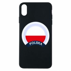 iPhone Xs Max Case Flag Of Poland round