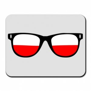 Mouse pad Flag of Poland