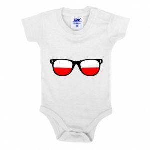 Body dziecięce Flaga Polski