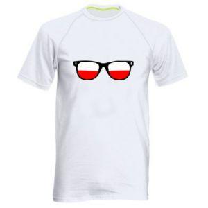 Koszulka sportowa męska Flaga Polski