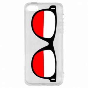 Etui na iPhone 5/5S/SE Flaga Polski