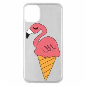 Etui na iPhone 11 Pro Flamingo ice cream