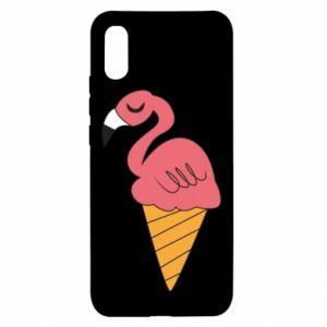 Etui na Xiaomi Redmi 9a Flamingo ice cream