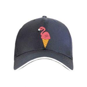 Czapka Flamingo ice cream