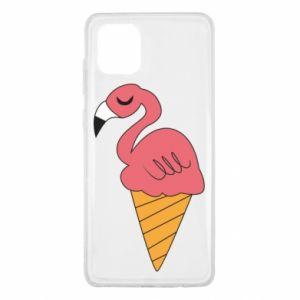 Etui na Samsung Note 10 Lite Flamingo ice cream