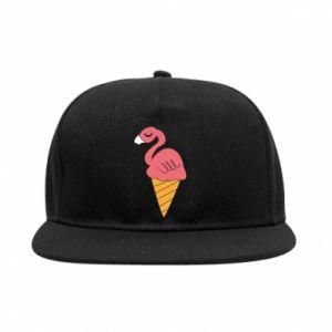 Snapback Flamingo ice cream