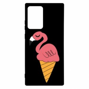 Etui na Samsung Note 20 Ultra Flamingo ice cream