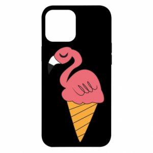 Etui na iPhone 12 Pro Max Flamingo ice cream