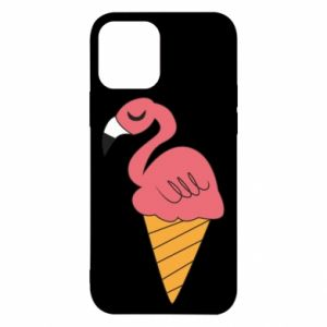 Etui na iPhone 12/12 Pro Flamingo ice cream