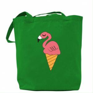 Torba Flamingo ice cream