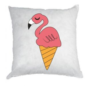 Poduszka Flamingo ice cream