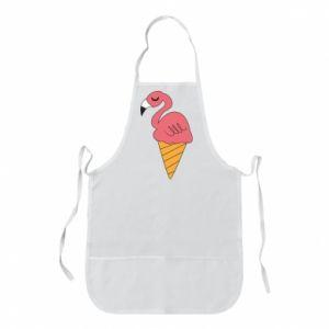 Fartuch Flamingo ice cream