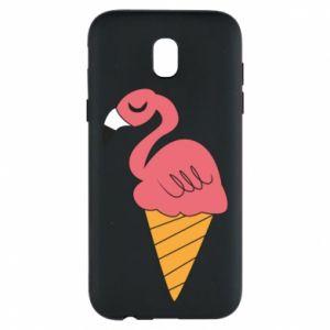 Etui na Samsung J5 2017 Flamingo ice cream