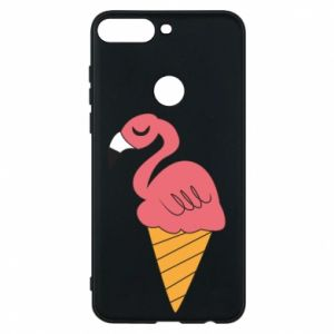 Etui na Huawei Y7 Prime 2018 Flamingo ice cream
