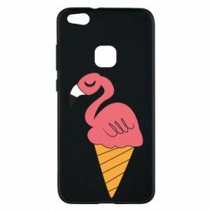 Etui na Huawei P10 Lite Flamingo ice cream